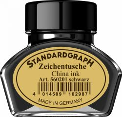 Instrumente de scris Tus calimara Standardgraph Black 30ml