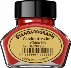 Instrumente de scris Tus calimara Standardgraph Red 30ml