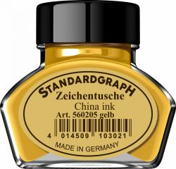 Instrumente de scris Tus calimara Standardgraph Yellow 30ml