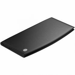 Accesorii birou Port card piele neagra El Casco M720