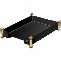 Accesorii birou Tava corespondenta negru& auriu El Casco