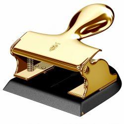 Accesorii birou Perforator auriu si negru El Casco M200