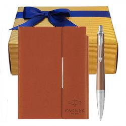 Valentine's day Set pix Parker Urban Premium orange cu notes B6