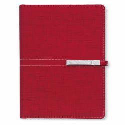 Agende nedatate Agenda organizer A5 cu catarama rosu