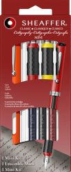 Instrumente de scris Set Sheaffer Mini Caligrafie 4 piese Orange