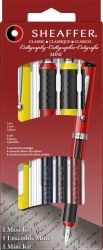 Instrumente de scris Set Sheaffer Mini Caligrafie 4 piese Yellow