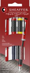 Instrumente de scris Set Sheaffer Mini Caligrafie 4 piese Red
