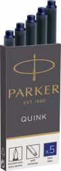 Instrumente de scris Cartus Parker Quink Standard albastru permanent