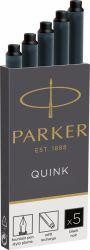 Instrumente de scris Cartus Parker Quink Standard negru permanent