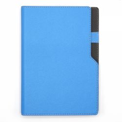 Agende nedatate Agenda notes A5 cu arc si decupaj Ultra Sky blue