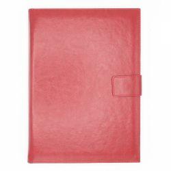 Cadouri Business Agenda A4 Premium cu mecanism auriu rosu