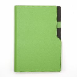 Cadouri Business Agenda notes A5 cu arc si decupaj verde deschis