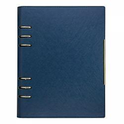 Agende nedatate Agenda organizer A5 cu 6 inele albastru