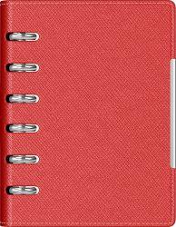 Cadouri Business Agenda organizer A6 cu 6 inele rosie