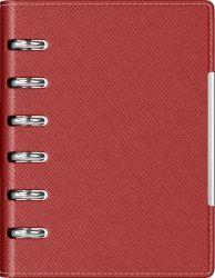 Cadouri Business Agenda organizer A6 cu 6 inele burgundi