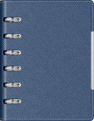 Cadouri Business Agenda organizer A6 cu 6 inele albastra