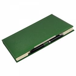 Cadouri Business Agenda notes B5 ( Manager ) cu decupaj pix verde inchis