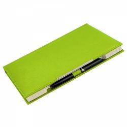 Agende nedatate Agenda notes B5 ( Manager ) cu decupaj verde deschis