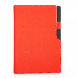 Agende A5 Agenda notes A5 cu arc si decupaj rosie