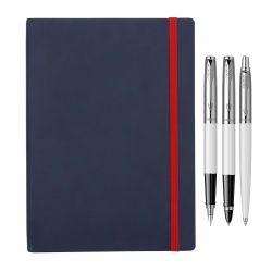 Instrumente de scris Set Parker stilou si pix Jotter alb cu agenda