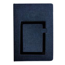 Agende A5 Agenda cu suport telefon si pix A5 albastru