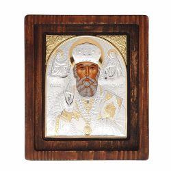 Botez Icoana argintata Sfantul Nicolae