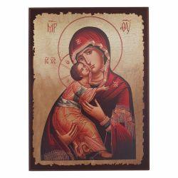 Botez Icoana pe lemn Maica Domnului Vladimir