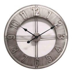 Ceas de perete cu mecanism Skeleton si geam 52,5x8,5 cm Ceas de perete otel 60 cm