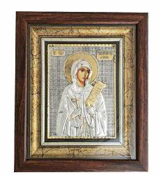 Nunta si Botez Icoana rama argint Sfanta Parascheva
