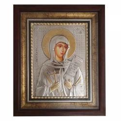 Botez Icoana argint Sfanta Parascheva