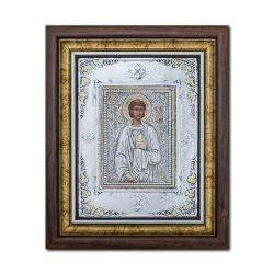 Botez Icoana argintata Sfantul Arhidiacon Stefan 27x32 cm