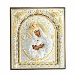 Nunta si Botez Icoana argint-pietre MD Ostrobramskaya