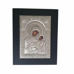 Botez Icoana argint Maica Domnului cu Pruncul Glikofilusa
