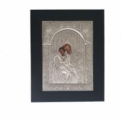 Botez Icoana argint Maica Domnului cu Pruncul Axionita