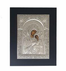 Botez Icoana argint Maica Domnului Axionita