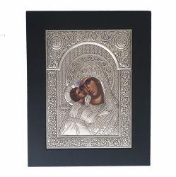 Nunta si Botez Icoana argint Maica Domnului Dulcea Sarutare