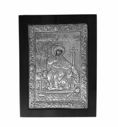 Icoana argint pietre Sfanta Familie Icoana argint Sfanta Ecaterina