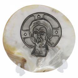 Botez Icoana argint pe scoica Iisus