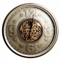 Ceas perete harta lumii 70 cm Ceas de perete cu 4 cifre 70cm