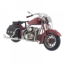 Decoratiune pisici Portelan Argint  Decoratiune Chopper Red