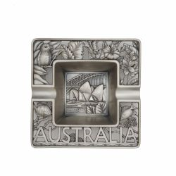 Decoratiuni casa Scrumiera Metal Patrata Australia