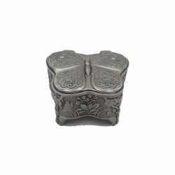 Vaza Isthmus Selangor 12 x 20 cm Caseta Metal Bijuterii Fluture