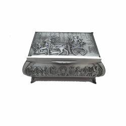 Decoratiuni Cutie Bijuterii Metal Cleopatra