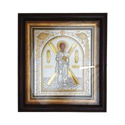 Icoane  Icoana Argintata in Rama Sf.Andrei