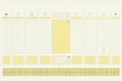 Instrumente de scris Rezerva mapa birou B3 dictando