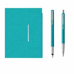 Seturi instrumente de scris Set Parker Vector cu agenda tip mapa