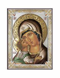 Icoane  Icoana Maica Domnului din Vladimir 19x26 cm