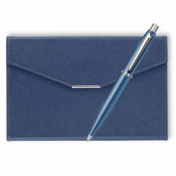 Seturi instrumente de scris Set Sheaffer pix VFM albastru cu agenda plic A5 navy