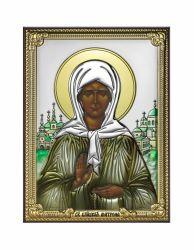 Icoane  Icoana Sfanta Matrona din Moscova 8x11 cm