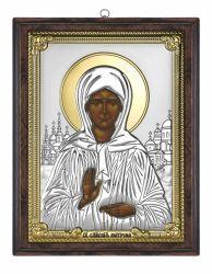 Icoane  Icoana Sfanta Matrona Din Moscova 12x15cm